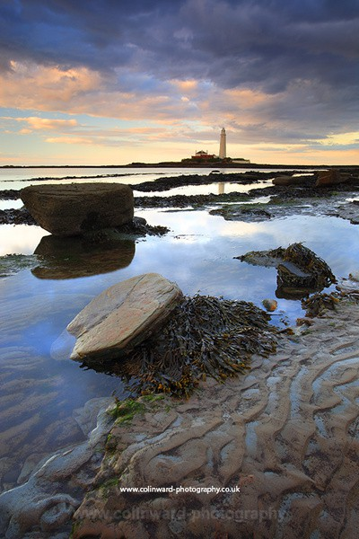 St Marys Lighthouse, Whitley Bay. ref 8113 - Tyne and Wear