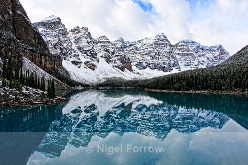 Moraine Lake and the Valley of the Ten Peaks - Canada