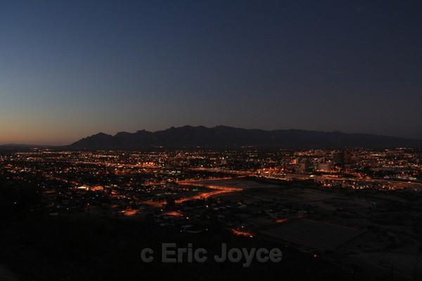 Tucson at Dusk - Tuscon, Arizona