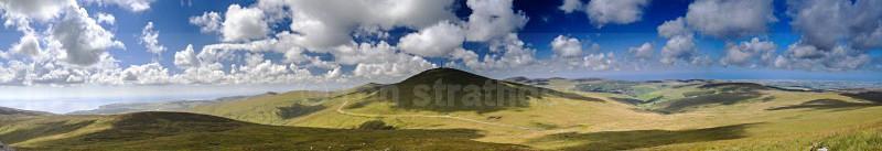 Snaefell Panorama - Panorama of Man
