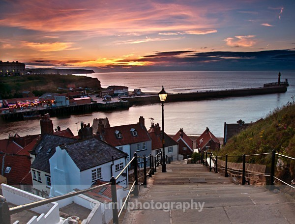 Whitby Steps. - Low Light Photography