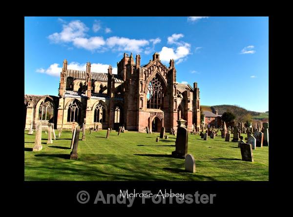 Melrose Abbey - Border Abbeys