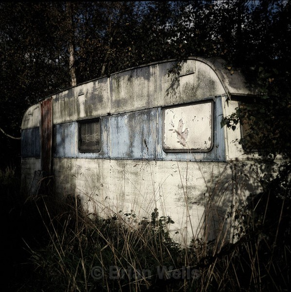 Discarded Caravan, Smallburgh - Transport and Machinery