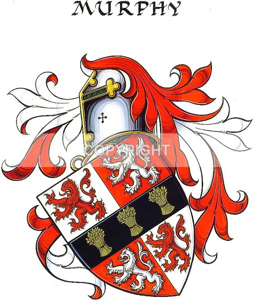 Murphy Family - CC-108 - Heritage Family Name and Coat of Arms Store