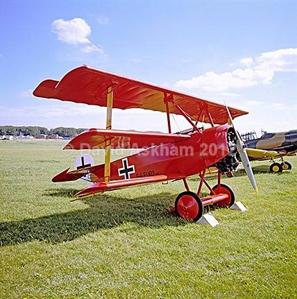Fokker Triplane WWI - Aircraft