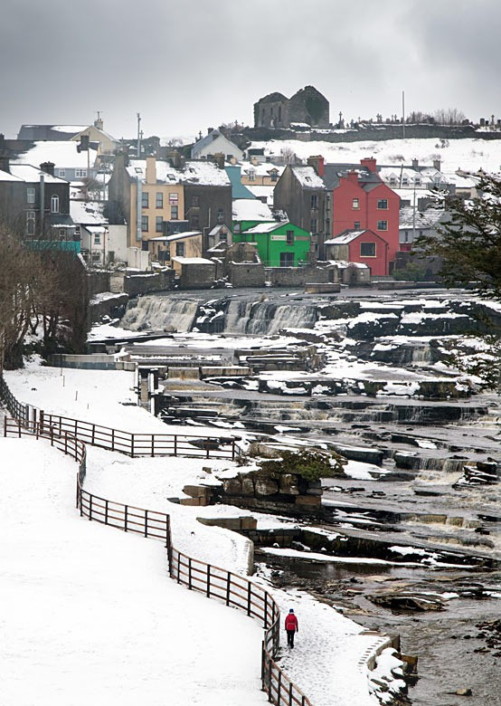 Falls in Winter - Landscapes of Ireland - County Donegal and the Wild Atlantic Way