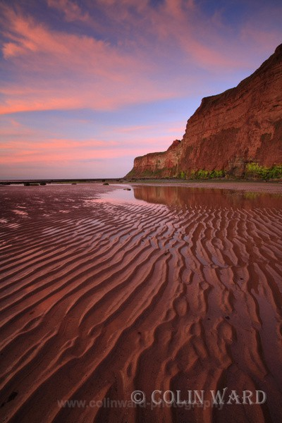 Red sand Ripples - North Yorkshire and Cleveland