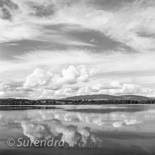 Loch of Lintrathen Scottish Highlands - Earth Meets Sky