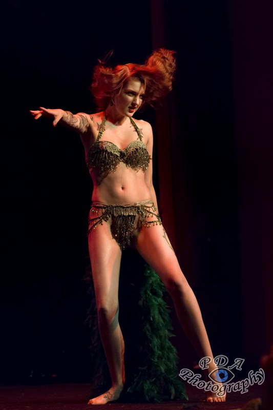 45 Millie Dollar in Burlesque Show Born to be Wild