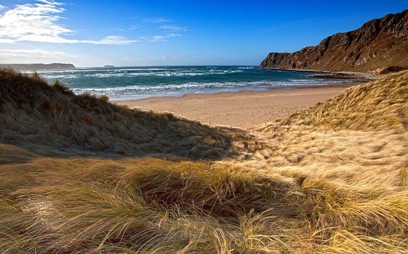 Wind in the Dunes - Landscapes of Ireland - County Donegal and the Wild Atlantic Way