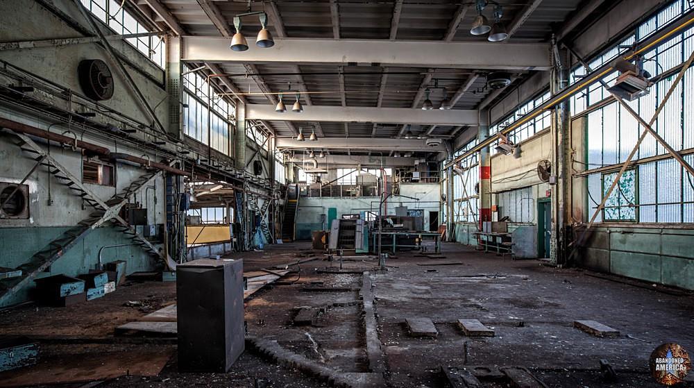 Philadelphia Naval Shipyard | Machine Shop - Philadelphia Naval Shipyard