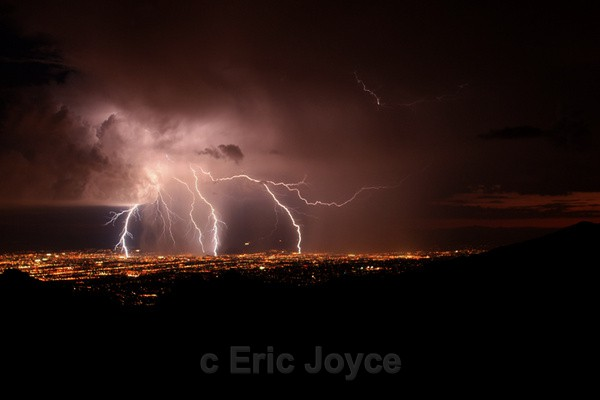 Tucson Light Show - Tuscon, Arizona