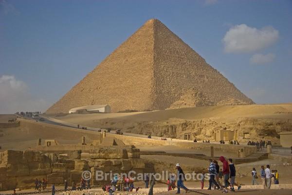 Pyramid at Gisa,Cairo.Egypt - Egypt Nile Tour 08