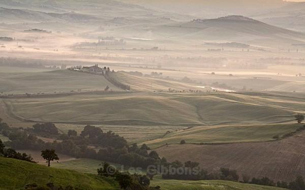 morning mist - Tuscany