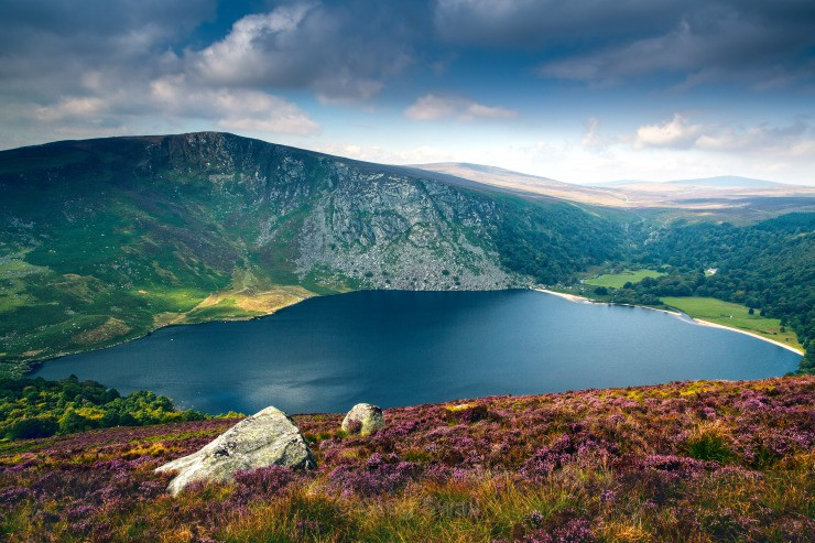 Lough Tay - Landscapes of Ireland - Glendalough and the Wicklow Mountains