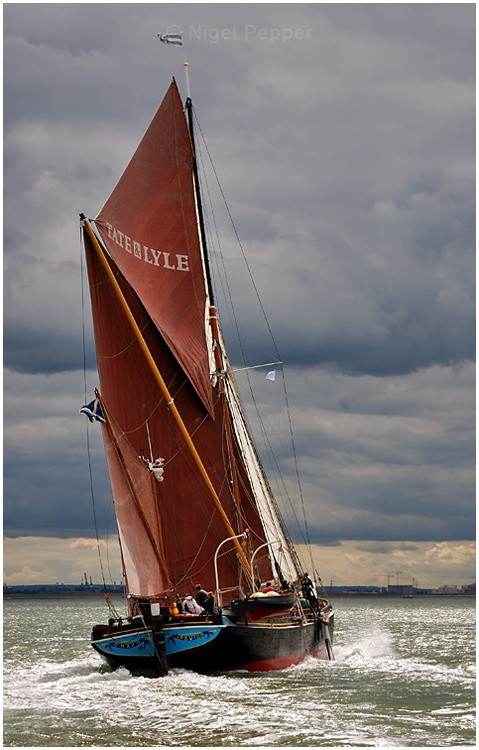 SB May (2) - The Thames Barge Match