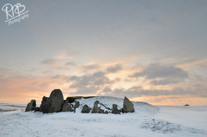 West Kennet Longbarrow - Winter 2 - Wiltshire & West Country Landscapes