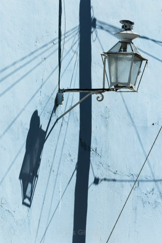 lamp and cables - Cuba