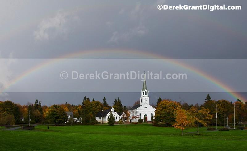 Common Rainbow Rothesay New Brunswick Canada - Rothesay