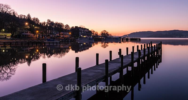 Dawn 0697 Waterhead. - Ambleside.
