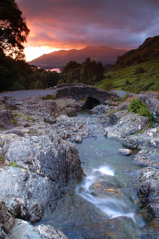 Cumbria33 - Ashness Bridge - Lake District National Park