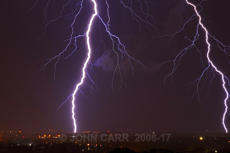 Two Big Ones-2594 - LIGHTNING STORMS IN SOUTH AUSTRALIA 5th NOV 2012