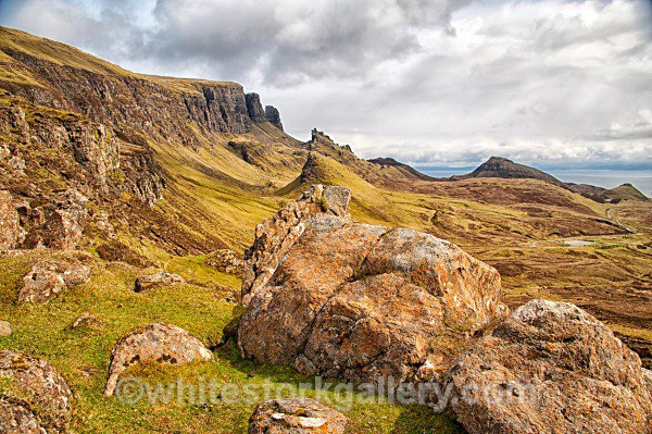 Quiraing, Isle of Skye - Scottish Highlands