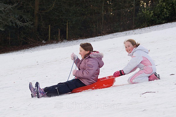 sled-19 - Sledging in the Snow