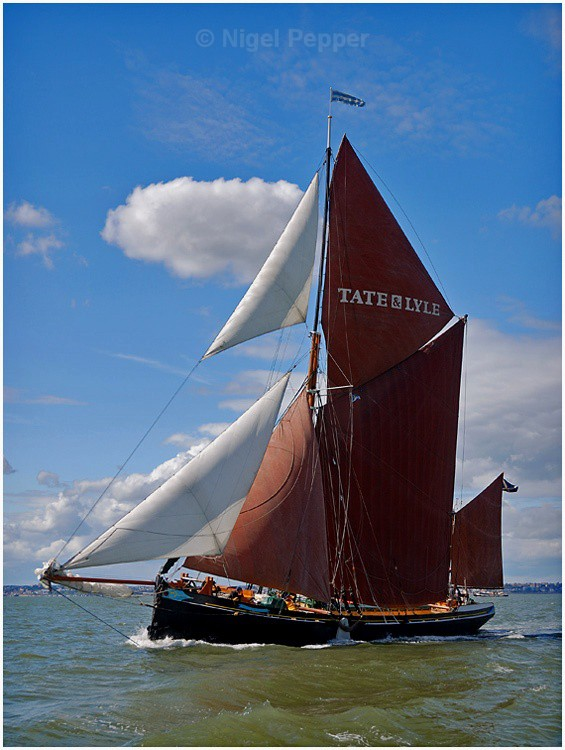 SB May (1) - The Thames Barge Match