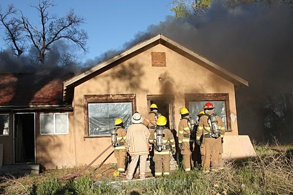 Training Fire 5/4/2011 - Fallon/Churchill Fire Department