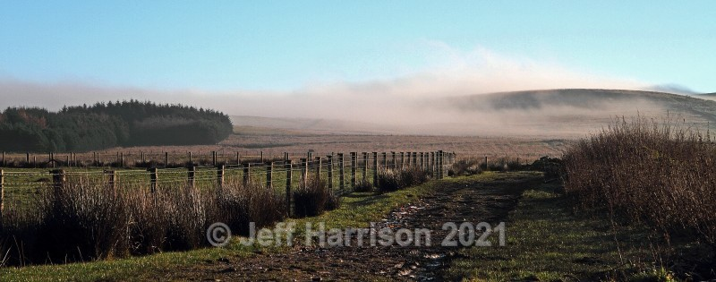 Early morning mist on Winter Hill (image Riv 04) - Landscapes & Skies