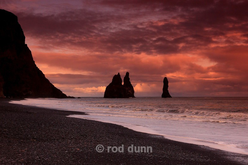 Reynisdranger morning - Iceland