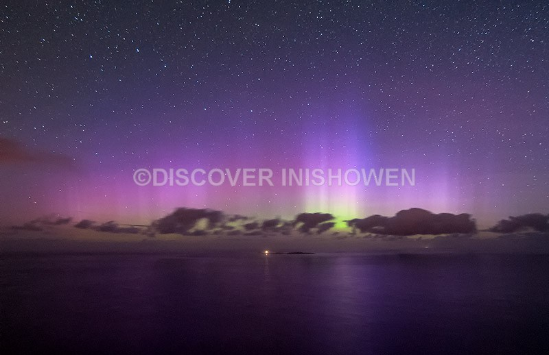 Inishtrahull Island - Aurora Borealis (Northern Lights)