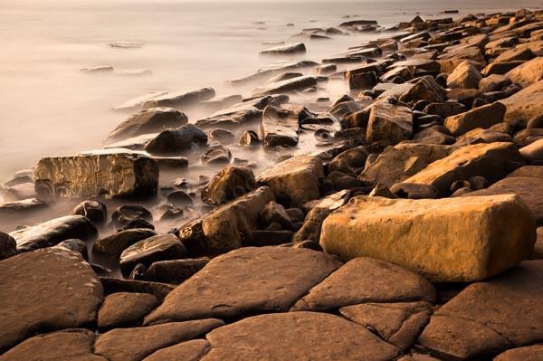 Seashore Boulders - Landscape