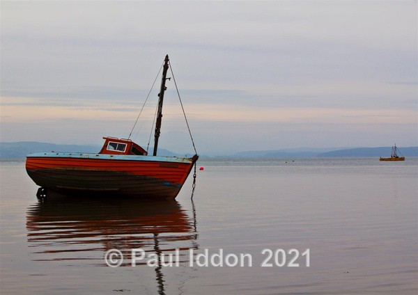 Morecambe Bay at Dusk - Landscapes