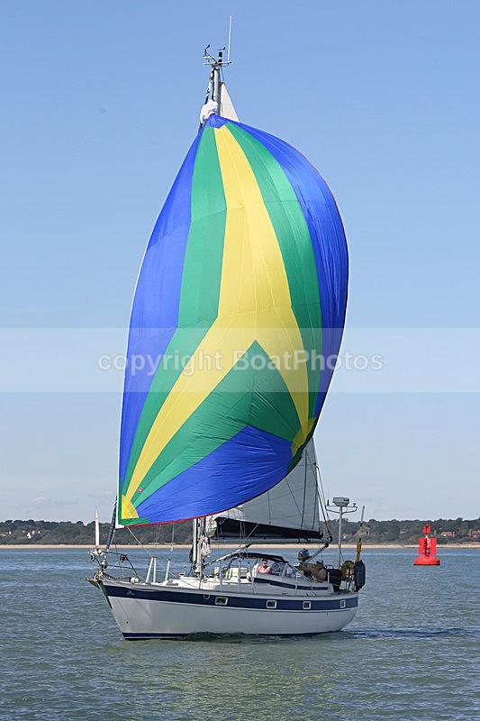160826 AMANDA Y92A6071 - FRIDAY 26th August - Hamble to Yarmouth