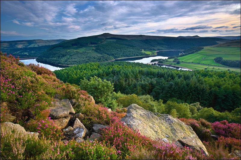 Ladybower Summer 2 - Peak District   Dark Peak