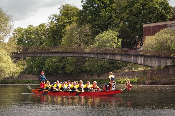 7 - Dumfries Devorgilla Dragon Boat Race 2010
