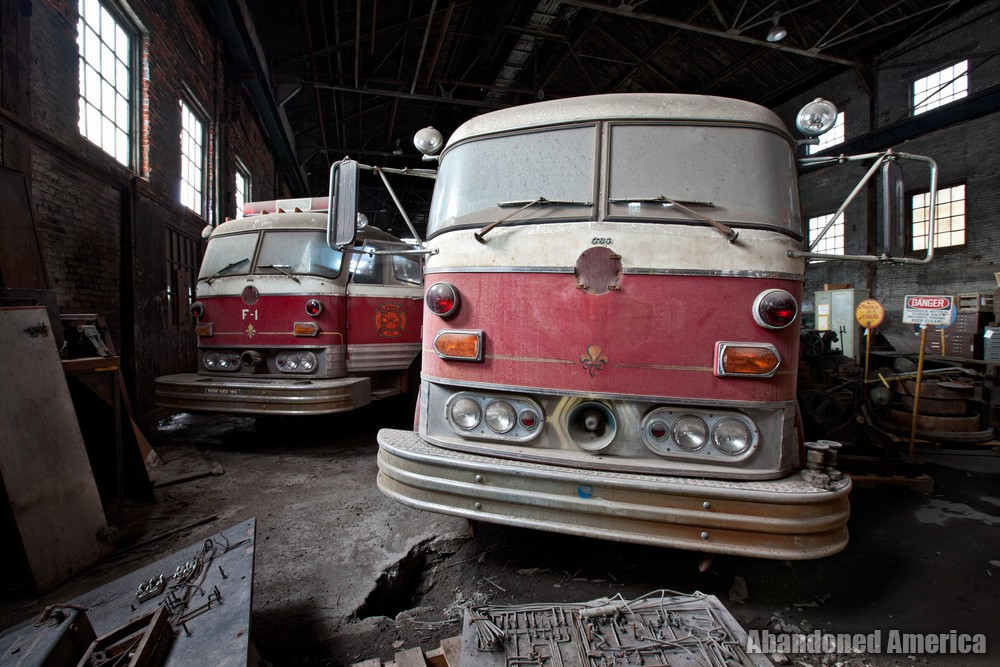 Bethlehem Steel (Bethlehem, PA) | Mack Model C Fire Engines - Bethlehem Steel