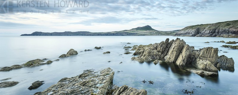 Towards Carn Llidi - Porthselau - Images from book