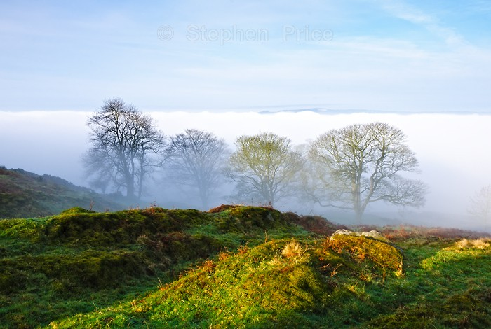 Misty Derbyshire Morning | Curbar Edge | Peak District Photography