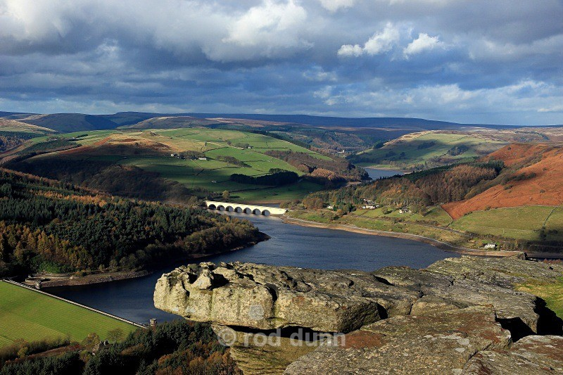 Ladybower from Bamford Edge - Peak District