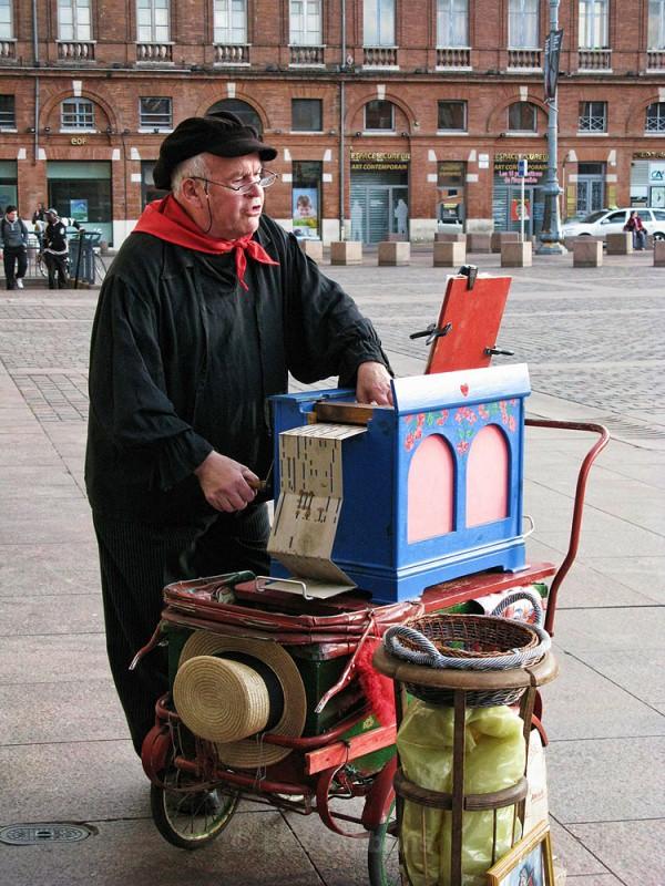 organ singer - Toulouse