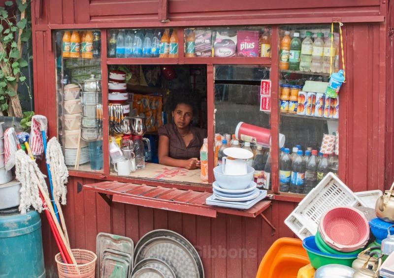 Lalibela shop - Ethiopia