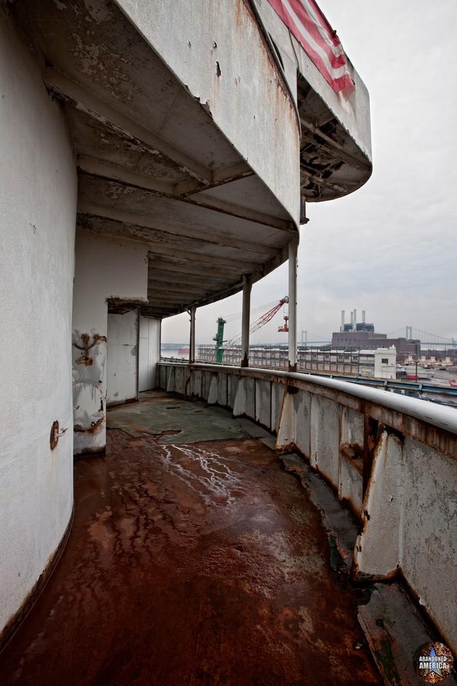 Weathered | SS United States (Philadelphia, PA) - SS United States