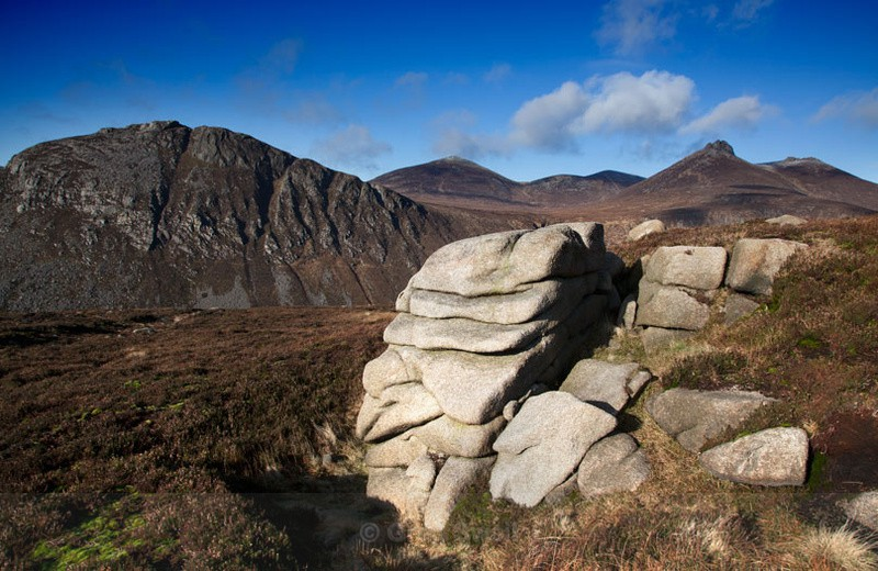 Rocky Outcrop - The Mourne Mountains (Spring,Summer and Autumn)