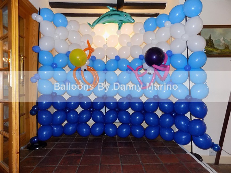 Small Quick link wall with decoration - Fun Balloons and things