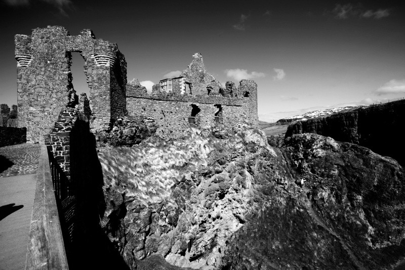Dunluce Castle, County Antrim - Ruins and Not So Ruined