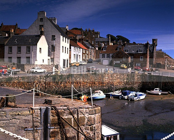Crail Fife Scotland - Land and Sea