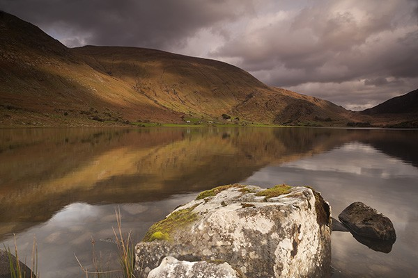Reflections , Lough Brin, Co. Kerry, Ireland.